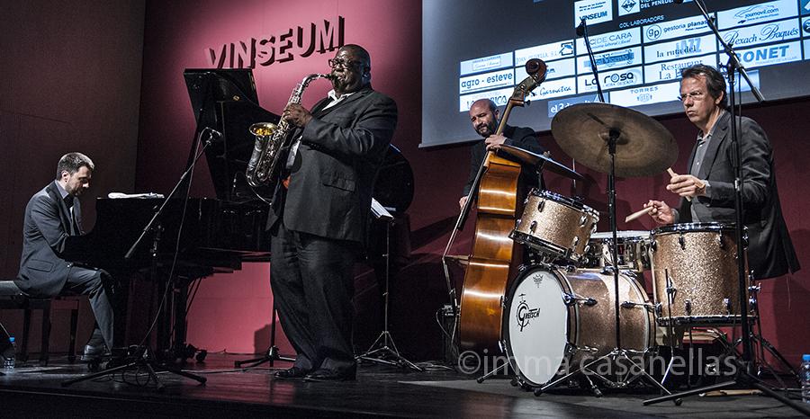Jesse Davis Quartet, Auditori de Vinseum, Vilafranca del Penedès, 16-5-2015