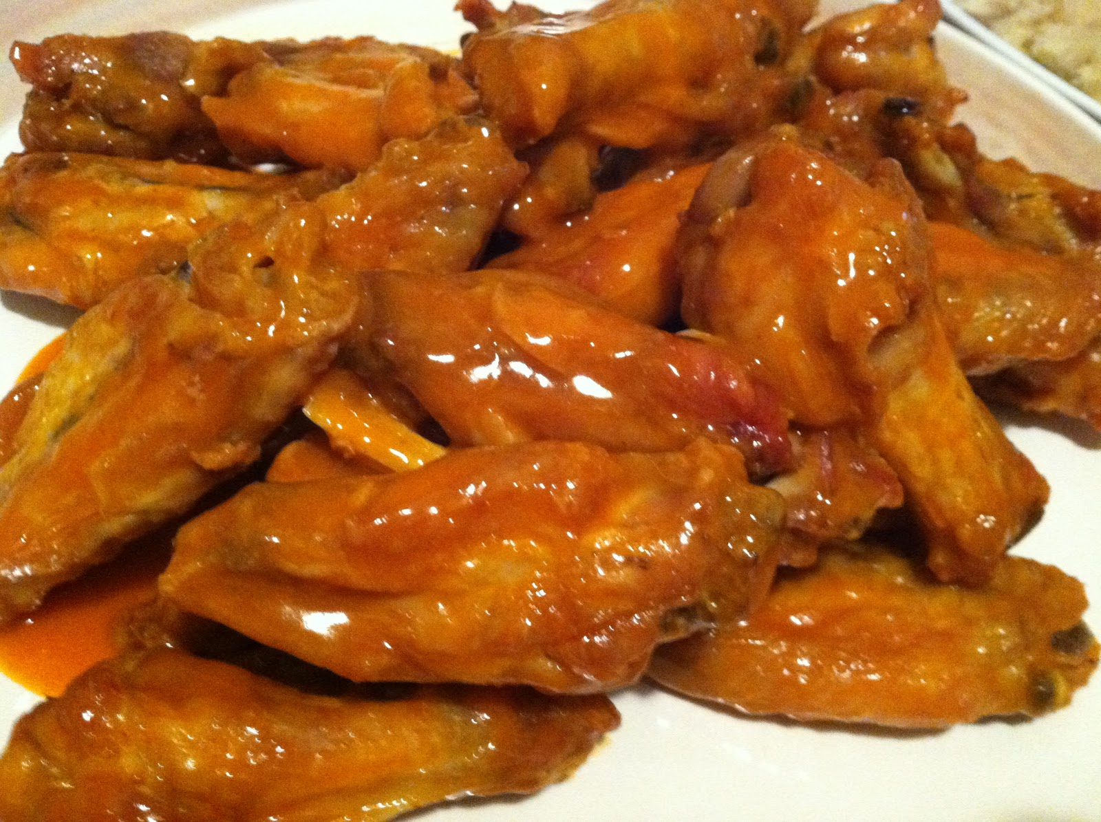 Recipe for crunchy chicken wings