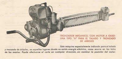 Motosierra española - Spanish Chainsaw