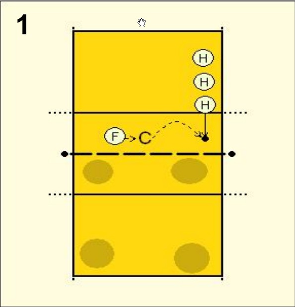 how to serve a volleyball for beginners