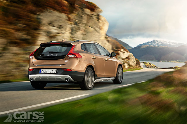 Back picture of Volvo V40