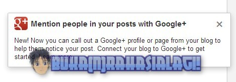 Google Plus Mentions for Blogger