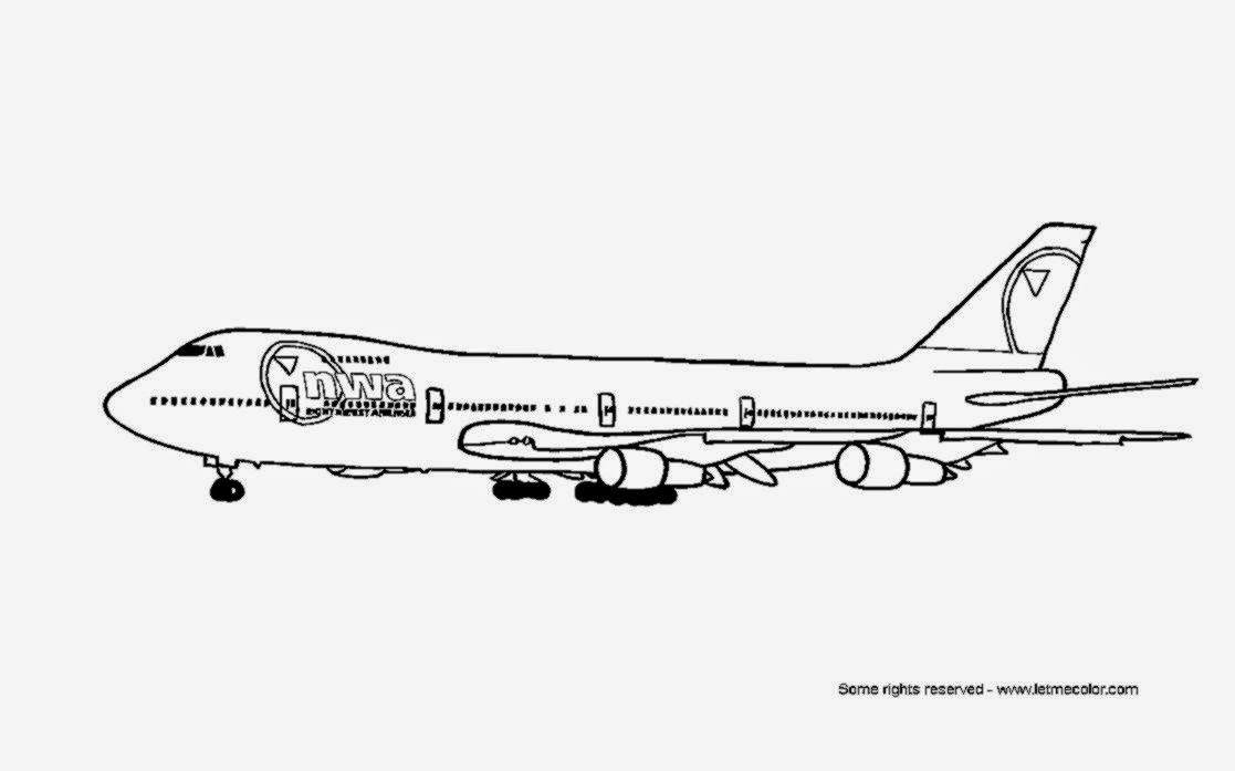 Airplane coloring sheet free coloring sheet for Coloring pages airplane