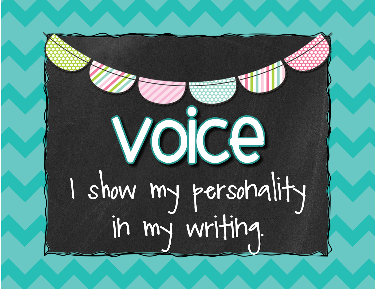 6 traits of writing voice