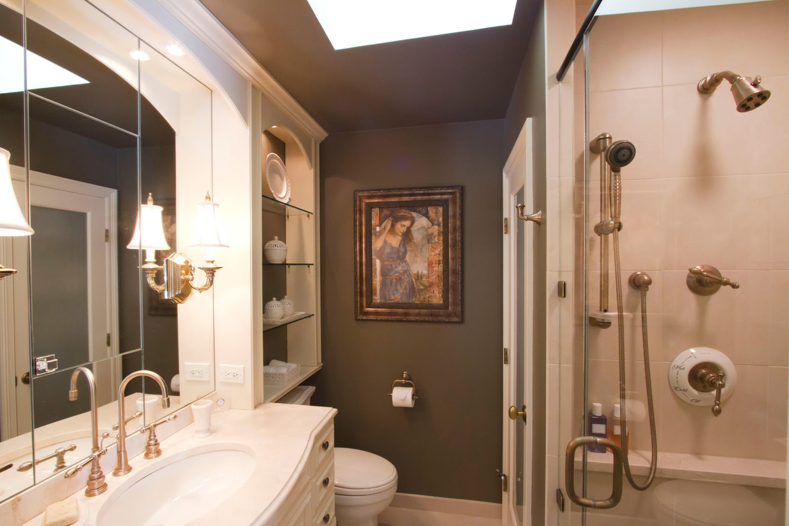 Small master bathroom designs