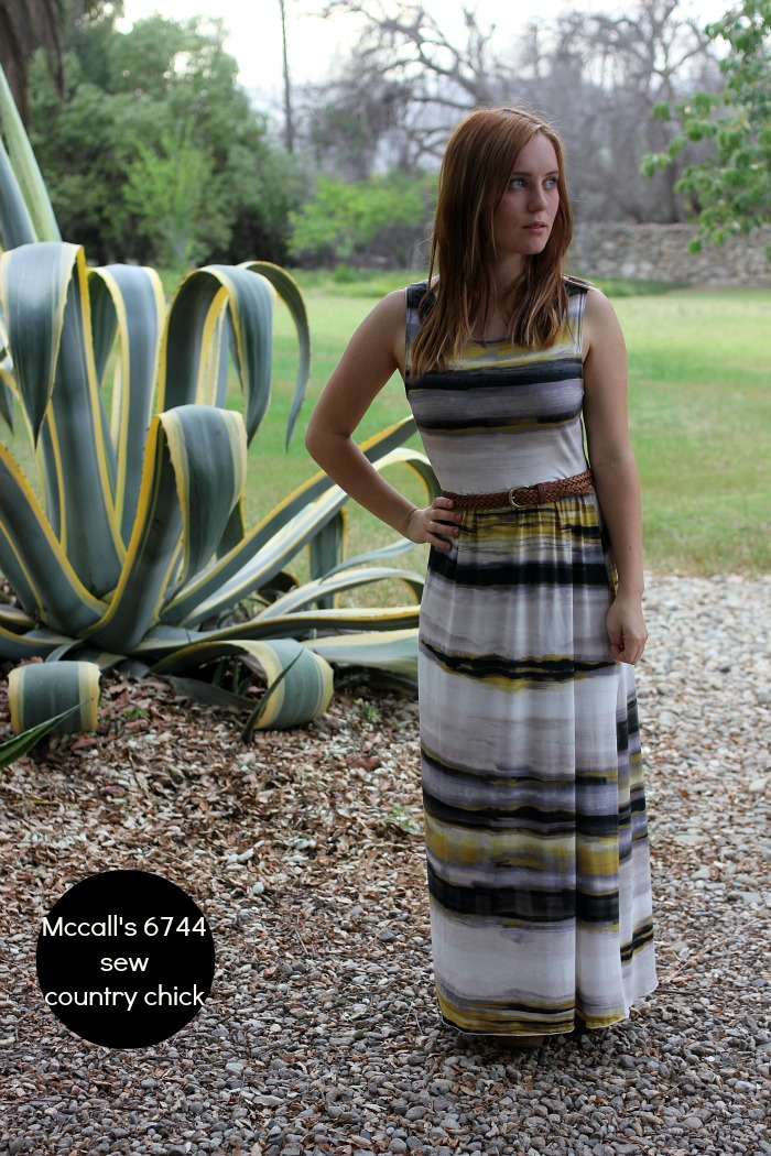 McCall's 6744 maxidress