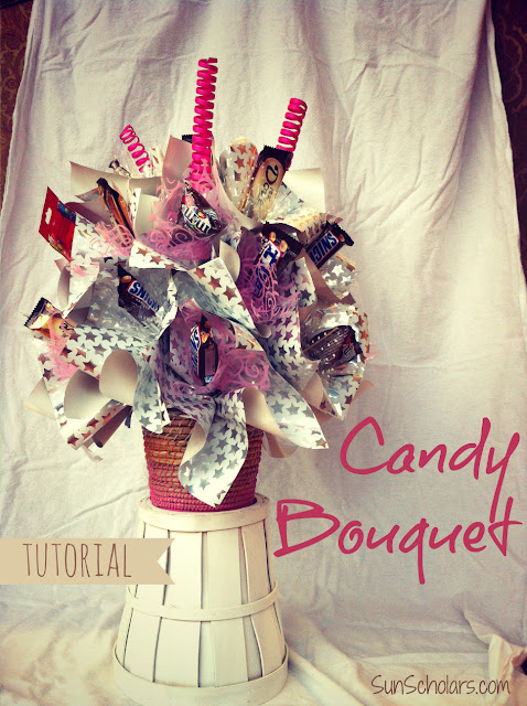 Candy Bouquet Tutorial - Sun Scholars