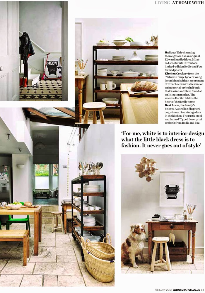 Karine Kong's home, Founder of BODIE and FOU in ELLE DECORATION UK
