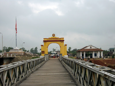 Bridge over the Ben Hai river