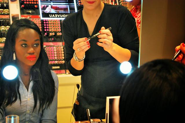 séance maquillage chez Pro's & Co Cosmétiques