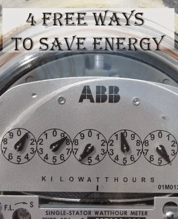 4 Free Ways to Save Energy