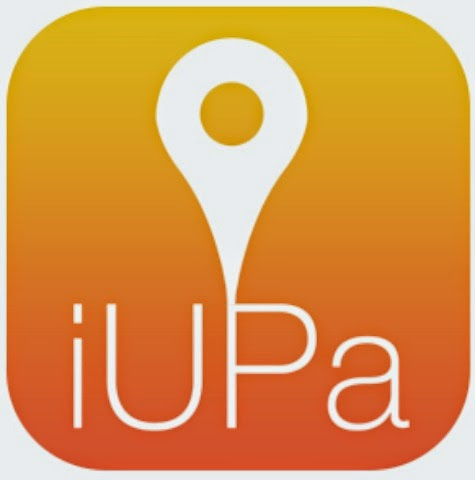 logotipo iupa app