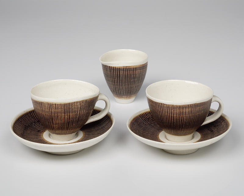 Tablewares+by+lucie+rie+and+hans+coper+c1955