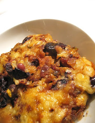 Black Bean and Quinoa Chili Casserole
