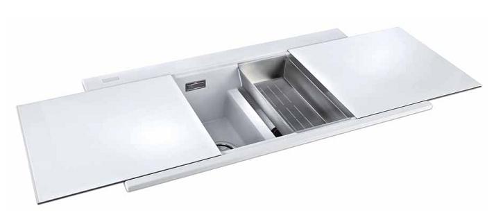 Fregadero granito tapa cristal tu cocina y ba o - Fregaderos de granito para cocina ...
