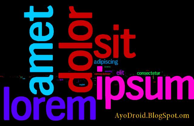 """Makna dibalik Frase""""Lorem Ipsum Dolor Sit Amet"""""""