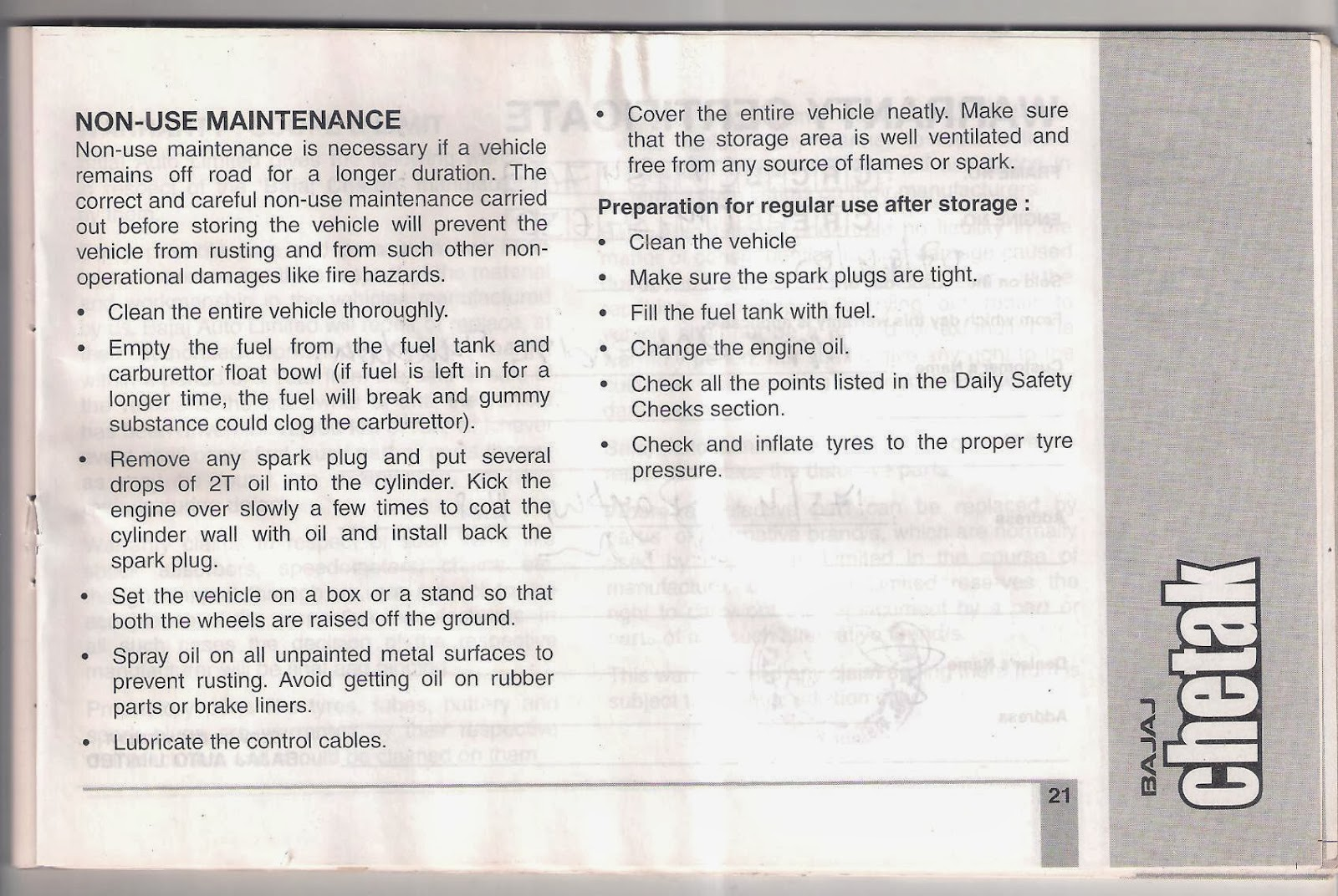 bajaj chetak service manual pdf dirty weekend hd. Black Bedroom Furniture Sets. Home Design Ideas