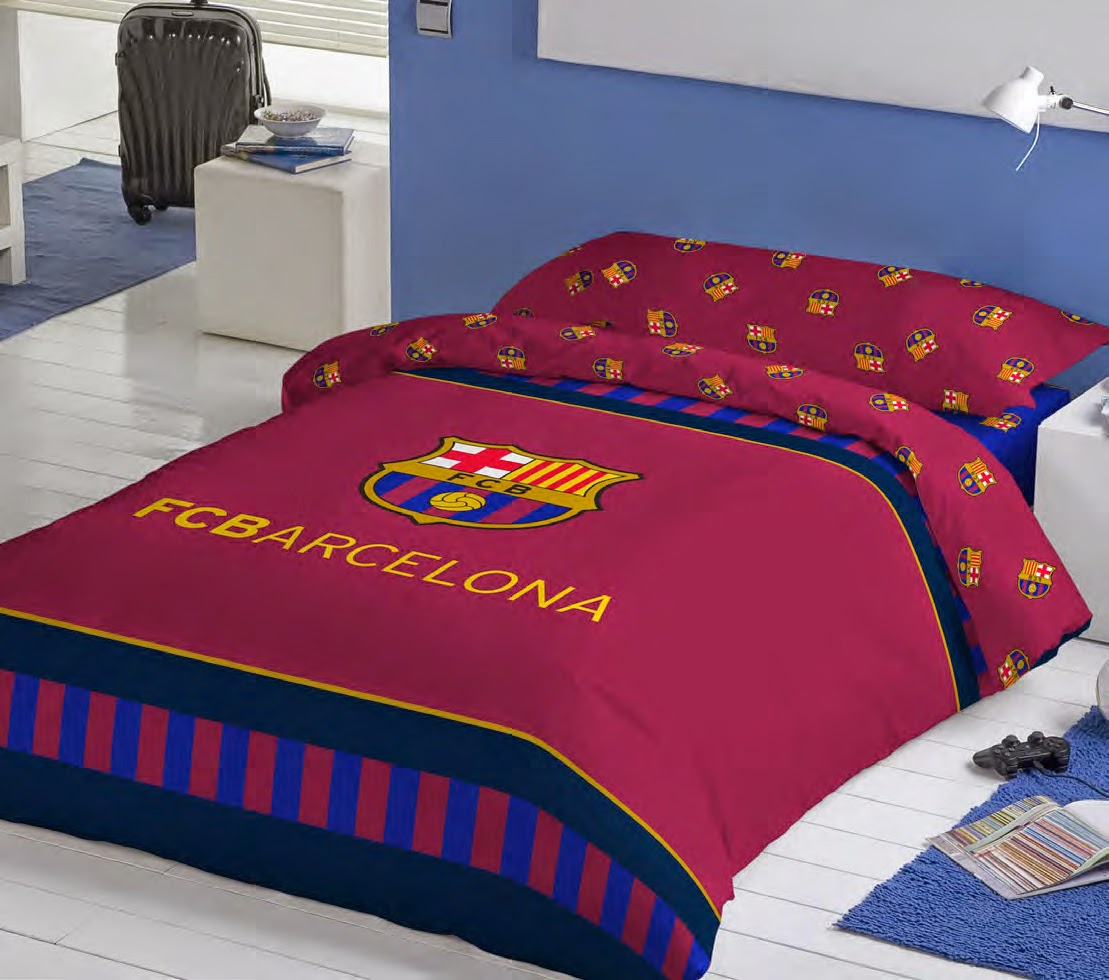 euromoda ropa de cama futbol club barcelona nueva