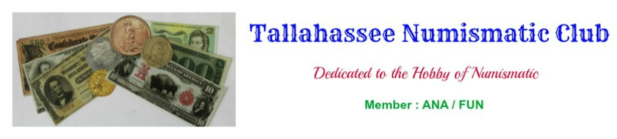 TALLAHASSEE NUMISMATIC CLUB