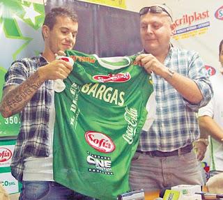Oriente Petrolero - Hugo Bargas - DaleOoo.com web del Club Oriente Petrolero