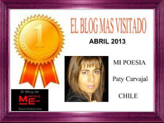 Mil gracias a todos los seguidores de Mi Poesía y en forma especial al blog de Marcelo Ekis.