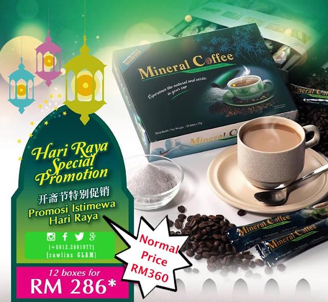 mineral coffee, testimoni, hanis haizi protege, promosi, murah, diskaun, Raya, Ramadhan, migrain, kurus, byrawlins, sihat, puasa,