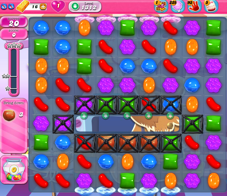 Candy Crush Saga 1312
