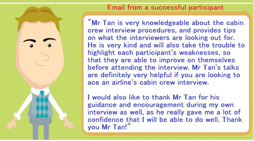 SIA Cabin Crew or Flight Attendant interview tips,seminar,talk,wannabes.