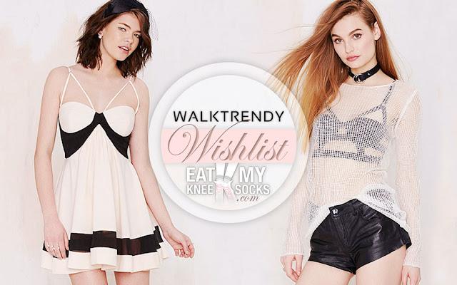 The Eat My Knee Socks/Mimchikimchi intro picture for the WalkTrendy fashion wishlist.