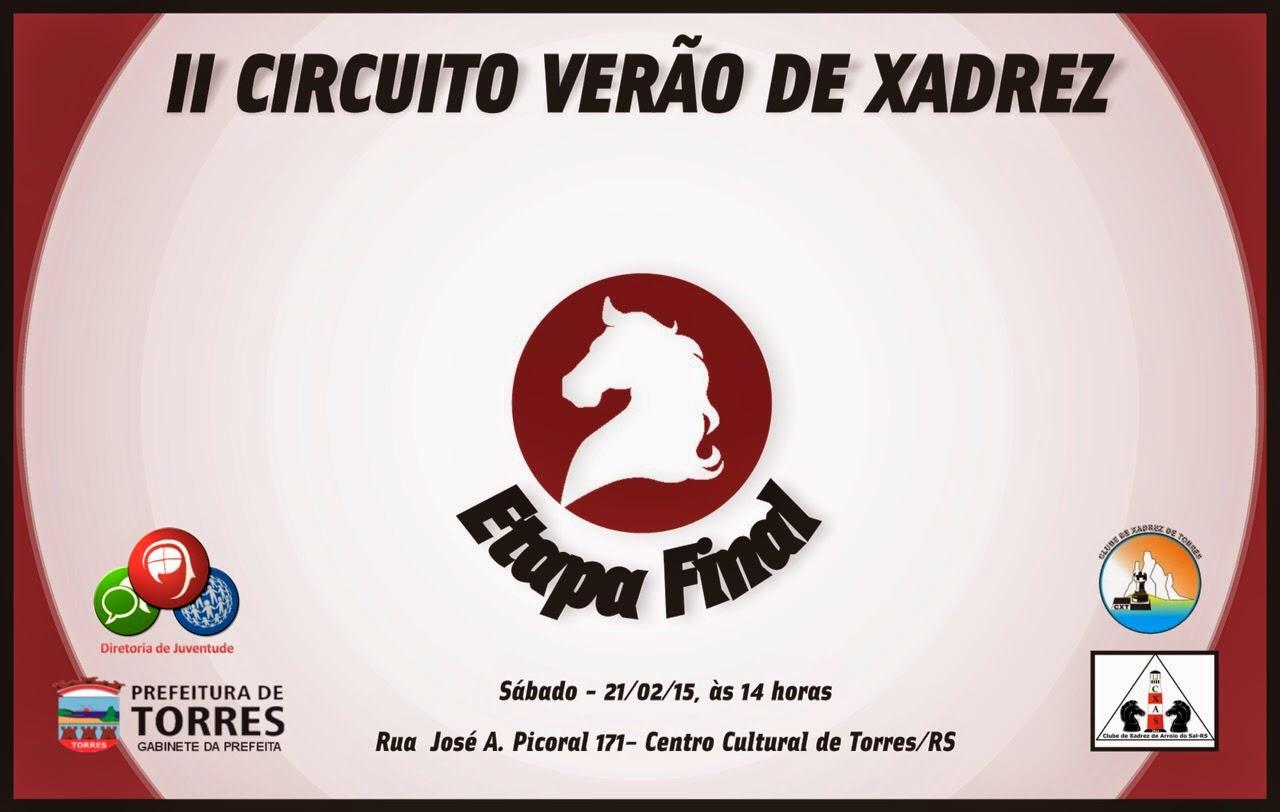 Circuito Verao : Clube de xadrez torres lista inscritos parcial