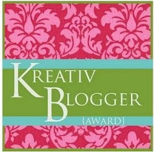 """Premio """"Kreativ Blogger"""" del Blog Nago-Nagu !!"""