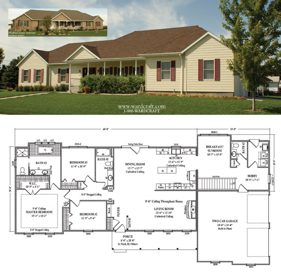 Prefab homes and modular homes in usa wardcraft homes for Design homes kc