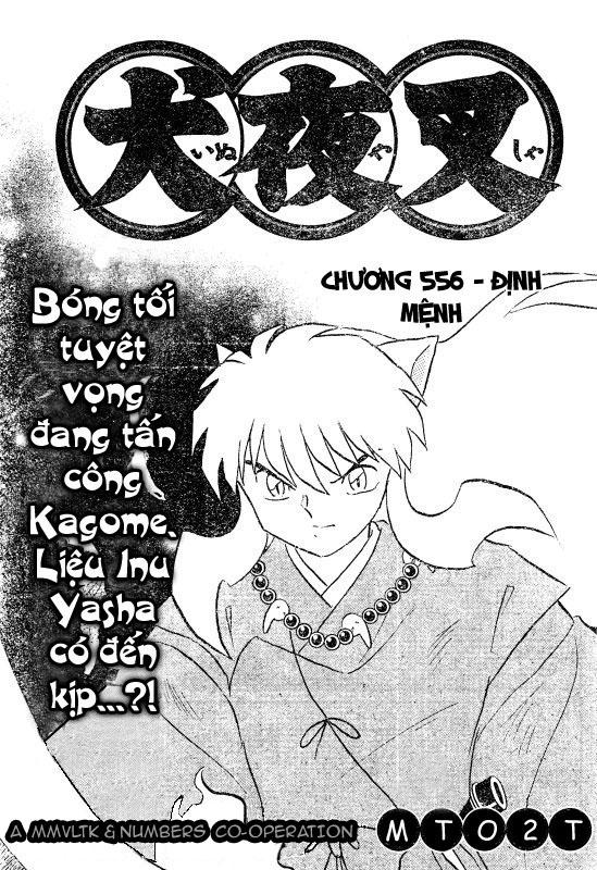 Inuyasha-Khuyển Dạ Xoa-Bản Đẹp chap 523 Trang 1