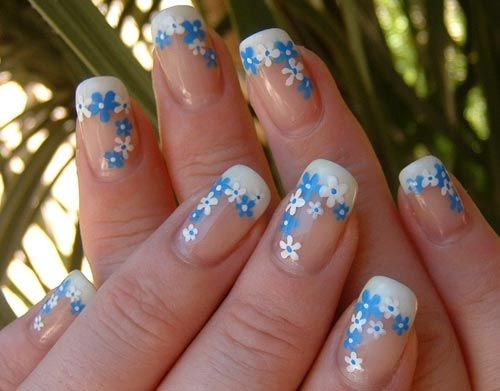 acrylic nail art hollywood teen