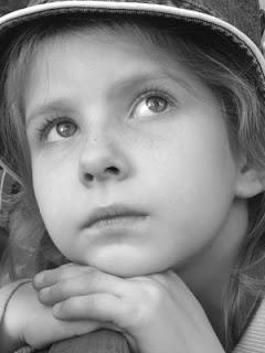 A pensive child