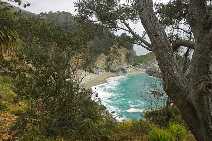 Julia Pfeiffer Burns State Park — McWay Falls, California