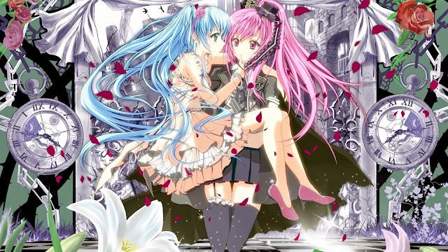 Imagenes de anime de amor