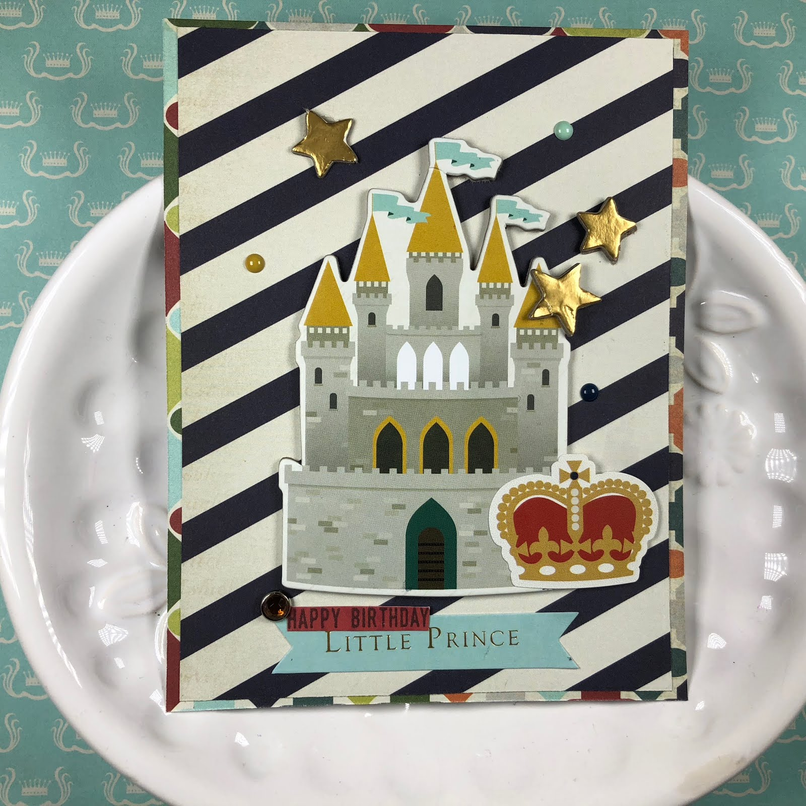 Fotobella Little Prince Birthday Card