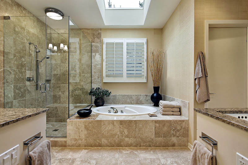 bathroom for a 5 x 8 bathroom 40 square feet that is a range of $ 7000  title=