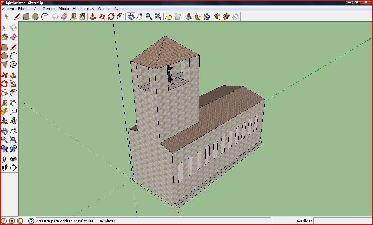Aprendiendo tecnolog a en la merced proyecto iglesia con - Como hacer una vidriera ...