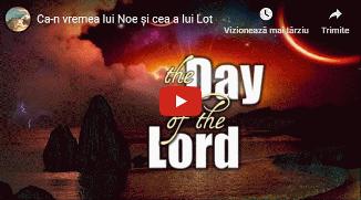 Aurel Gheorghe 🔴 Ca-n vremea lui Noe și cea a lui Lot