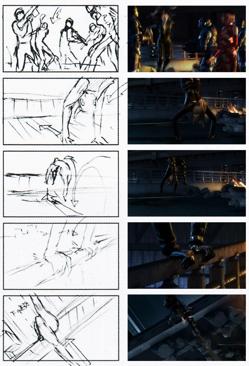Tekken Blood Vengeance CG