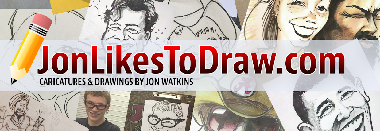 Caricatures & Drawings by Jon Watkins