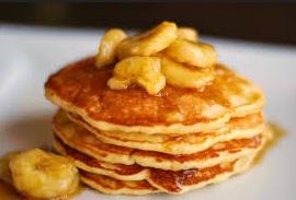 Resep Pancake Pisang & Cara Membuat Pancake Pisang