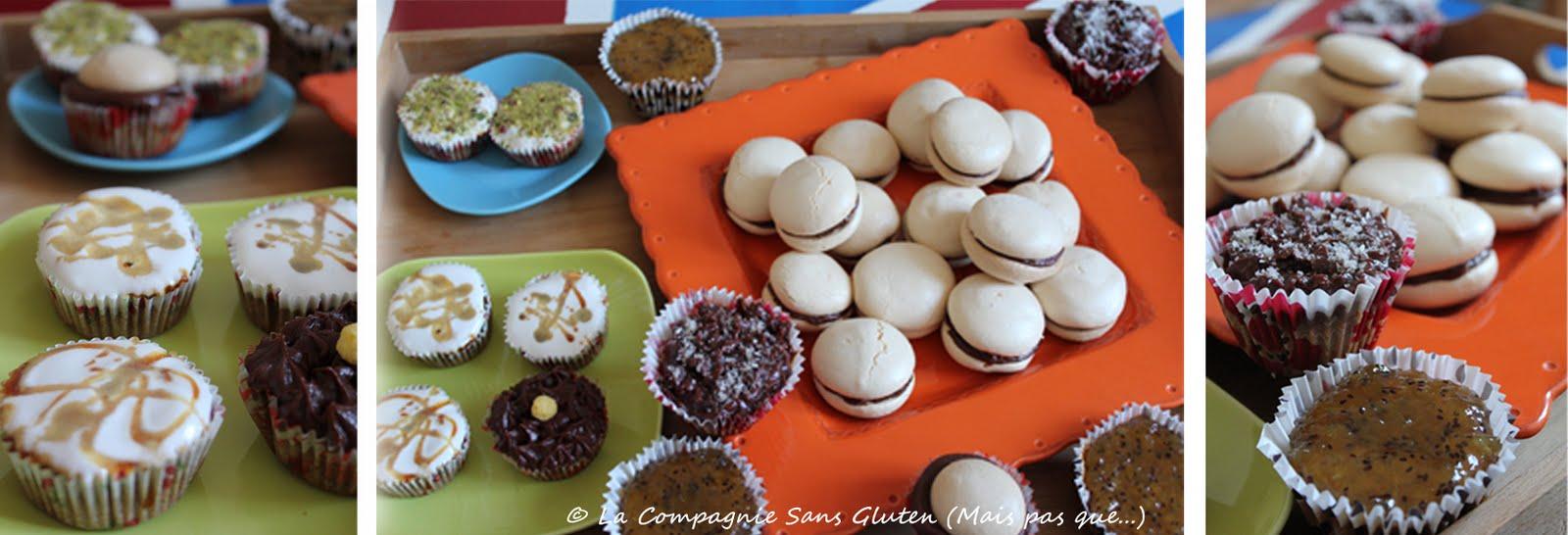 Gla age sans gluten et sans lait pour cupcakes gourmands - A table sans gluten et sans lait ...