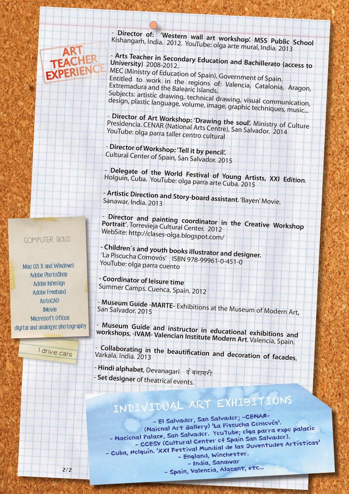 olgaparra: Currículum
