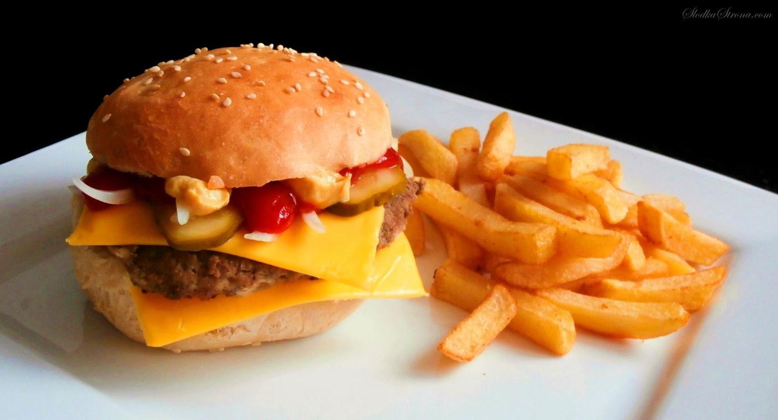Domowy McRoyal jak z McDonald's - Przepis - Słodka Strona