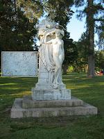 Escultura   Prado en Montevideo Uruguay