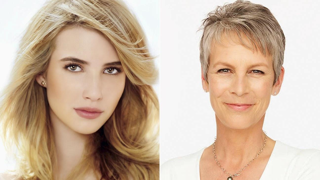 Jamie Lee Curtis y Emma Roberts serán las protagonistas de 'Scream Queens'