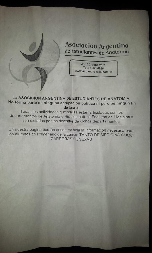 CBC 2014 Medicina UBA: CLASE INAGURAL FALSA DE ANATOMIA E HISTOLOGIA ...